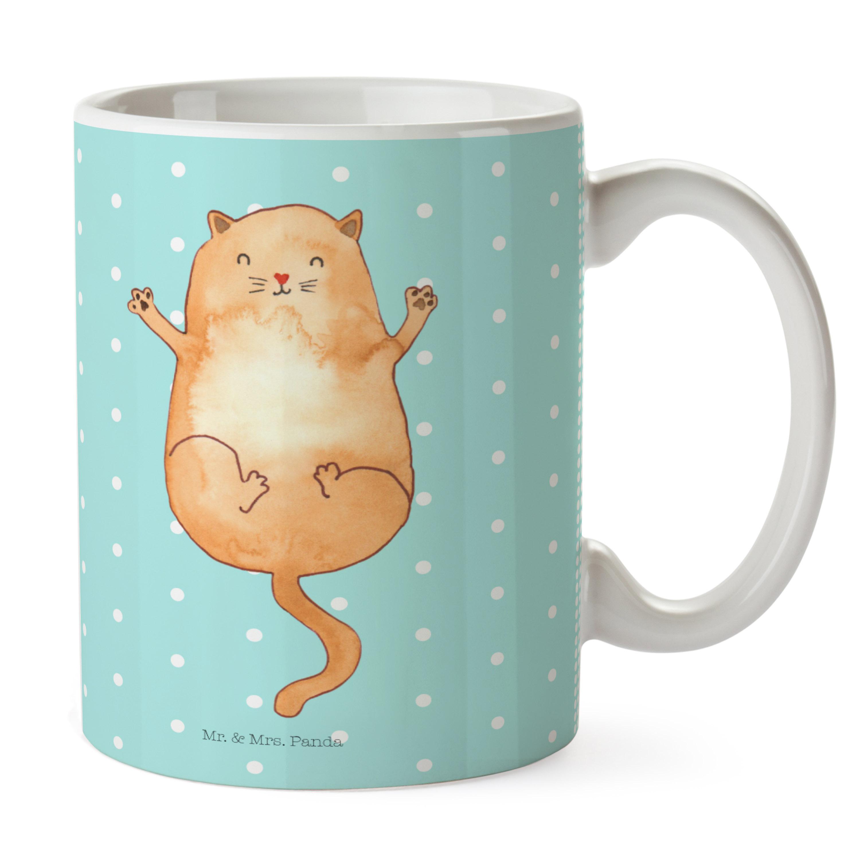 Tasse Katzen Umarmen aus Keramik