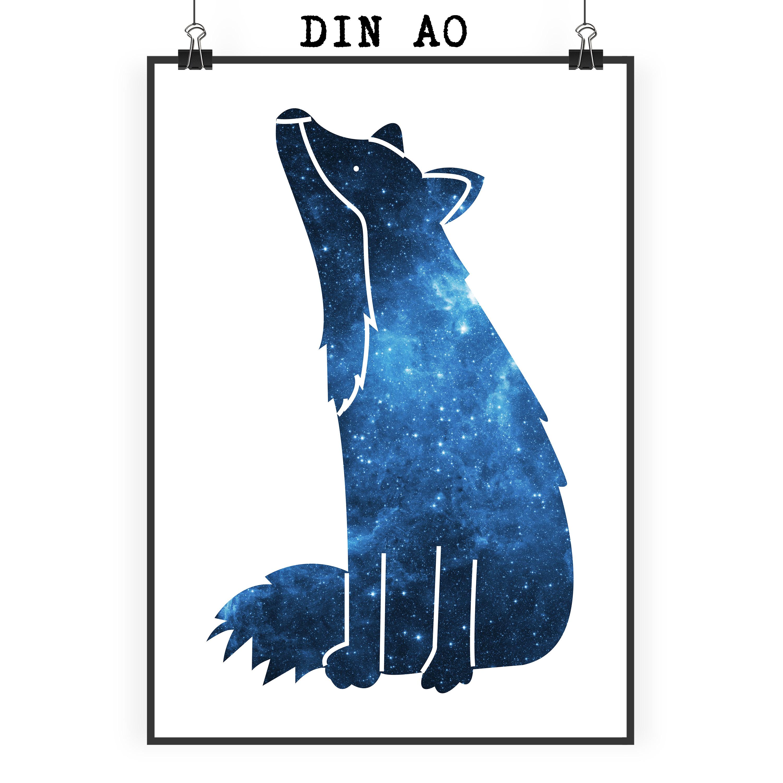 Poster DIN A0 Fuchs Sterngucker aus Papier 160 ...