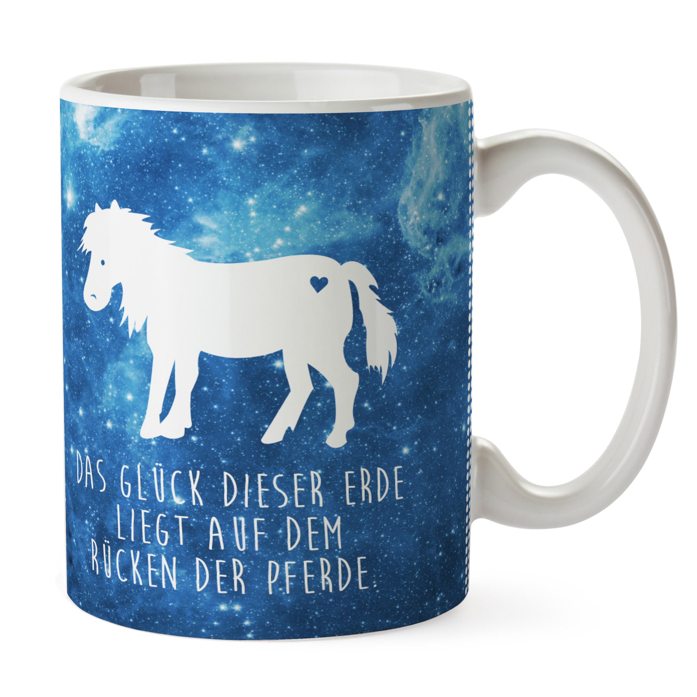Tasse Pony aus Keramik