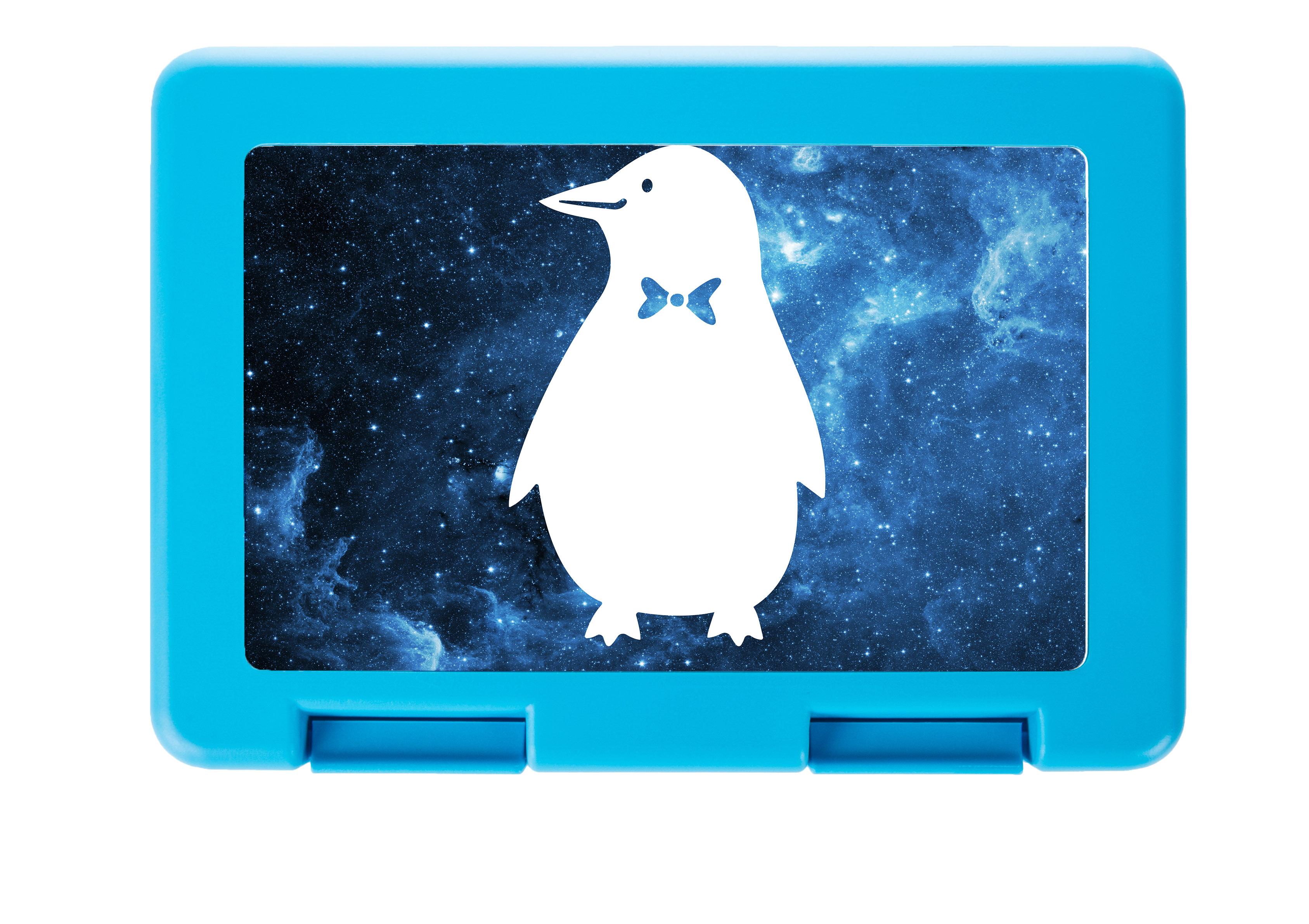 Brotdose Pinguin aus Premium Kunststoff