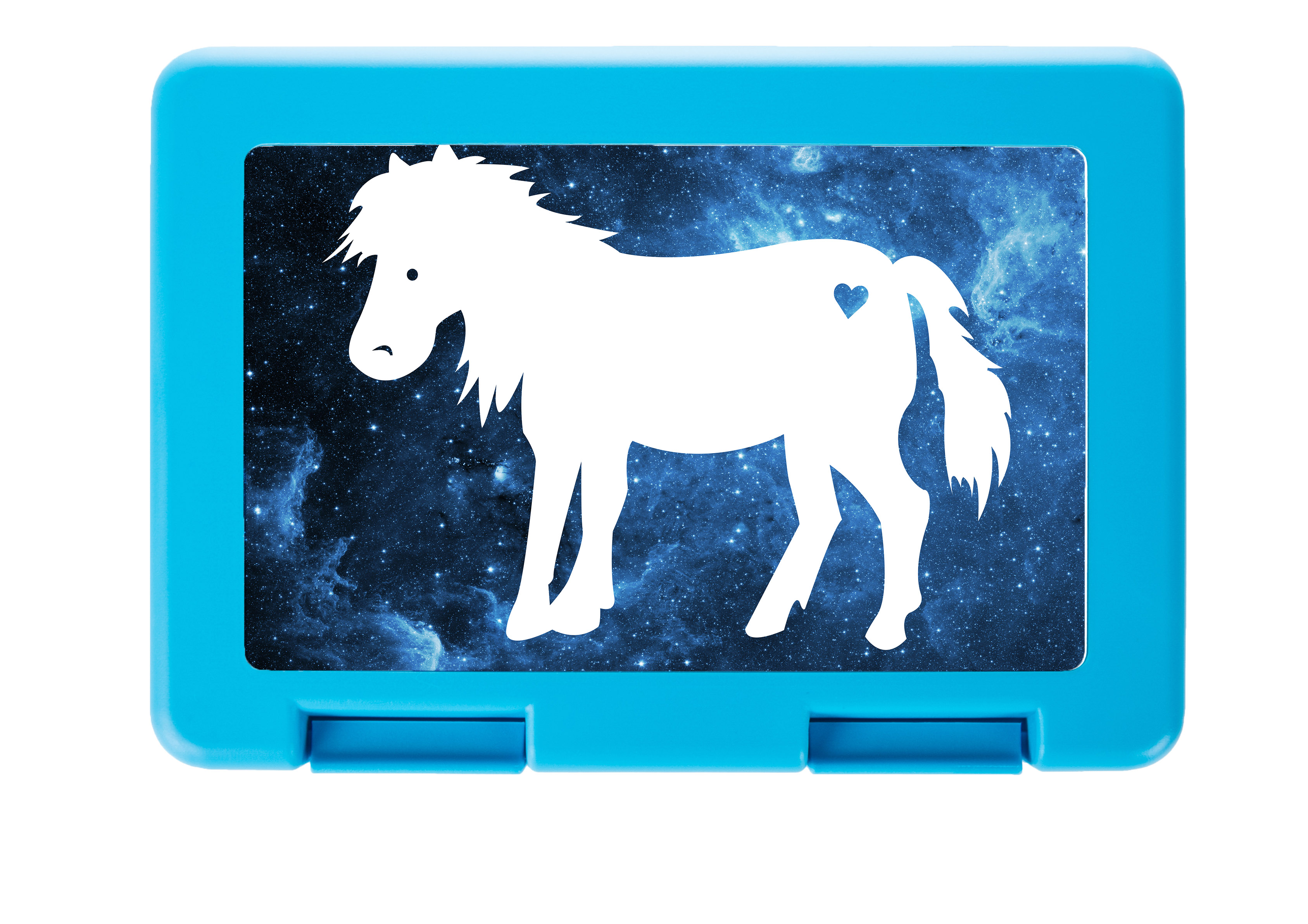 Brotdose Pony aus Premium Kunststoff