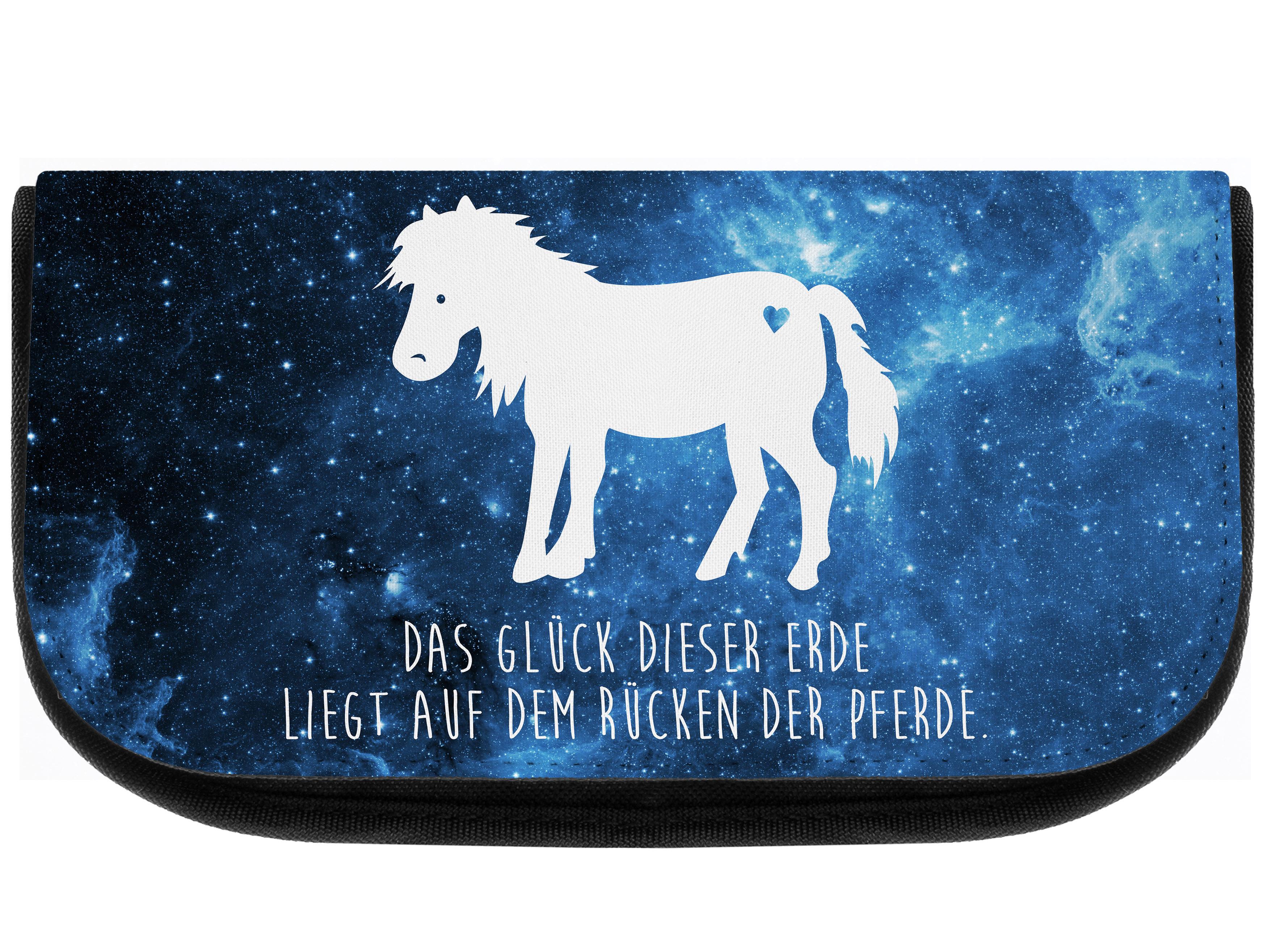 Kosmetiktasche Pony aus Kunstfaser