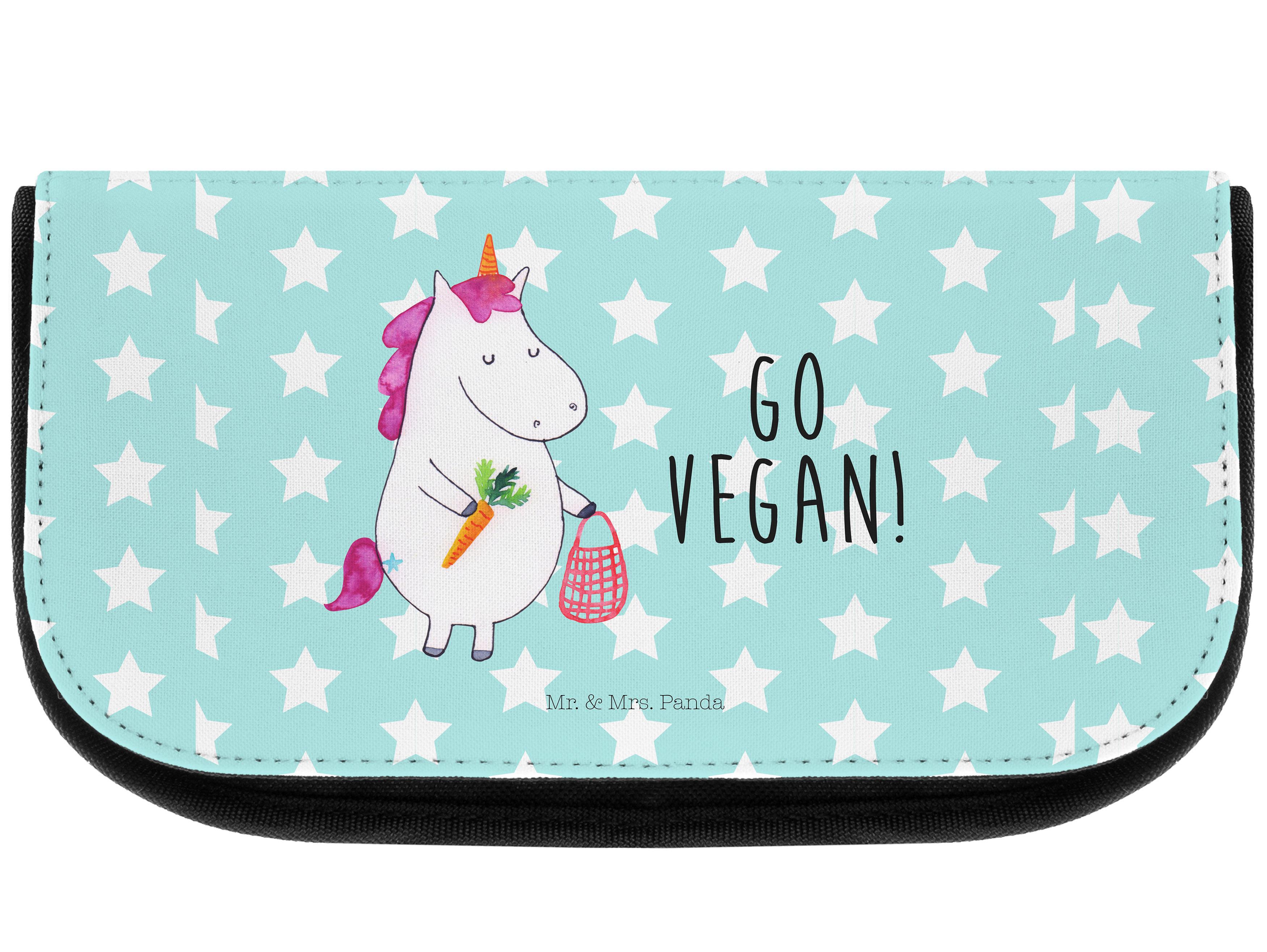 Kosmetiktasche Einhorn Vegan aus Kunstfaser